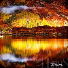 Montañas de otoño. | #Escocia #Scotland