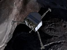 Journey to a comet and science on the surface - YouTube