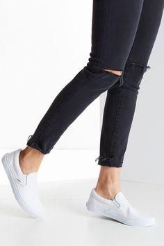 Vans Classic Slip-On Sneaker   White