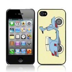 Θήκη iPhone 4 - Vespa. Δείτε το εδώ: http://www.uniqueshop.gr/thiki-iphone4-vespa.html
