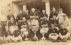 CDV Royal Scots Lothian Regiment Circa 1894 95 Football Team Champions of India