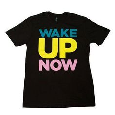 WakeUpNow Miami, this shirt is just for you, or anyone else who wants to sport the Miami colors in WakeUpNow style. Get the shirt and let others know you are proud to be a part of an amazing company. Sizes run small.