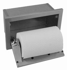 Hasty-Bake Stainless Steel Paper Towel Holder (PTH)
