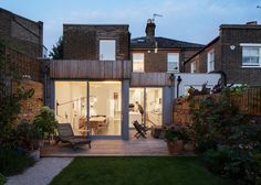 Haptic adds timber extensions to a Victorian home in London