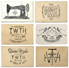 Hand lettering / TWTH Atelier on Behance — Designspiration...like the shading as well