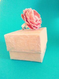 hand made fabric cover flower box @Helena ~ Treeoflove
