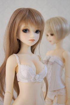 Atri doll-sized lingerie.