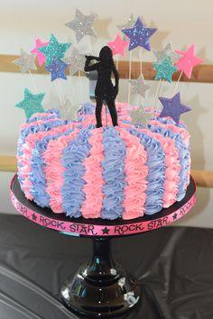 #Rockstar, #Popstar, #Barbie and the Popstar Cake
