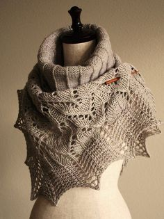 Ravelry: knittimo's pearl shawl  #knitted #shawl #afs collection
