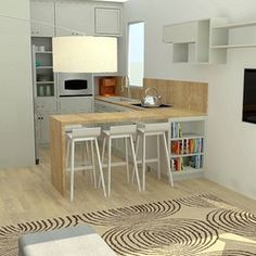 Small living space 26sqm | BLV Design
