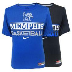 Nike® Memphis Tigers Basketball Performance T-Shirt | Tiger Bookstore