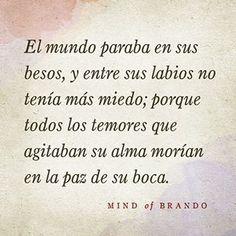 mind of brando - Cerca amb Google . La paz de sus besos #true love
