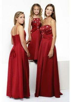 A-line Spaghetti Straps Sleeveless Satin Bridesmaid Dress With Beaded #FP108 - See more at: http://www.victoriasdress.co.uk/wedding-party-dresses/bridesmaid-dresses.html#sthash.UqYC3TE9.dpuf