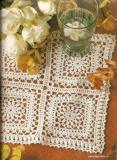 Patterns and motifs: Crocheted motif no. 1030