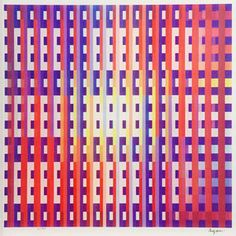 Yaacov Agam, Second Movement from Symphony Suite, 1994 (front view)
