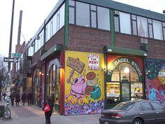 Bagel Store Williamsburg Brooklyn NY