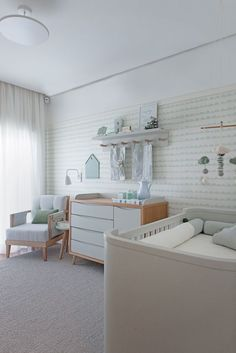 ideas baby room nordic bunk bed for 2019 Baby Bedroom, Baby Boy Rooms, Baby Room Decor, Baby Boy Nurseries, Nursery Room, Kids Bedroom, Nursery Decor, Mint Nursery, Room Baby