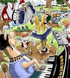 Luffy, Zoro, Nami, One Piece