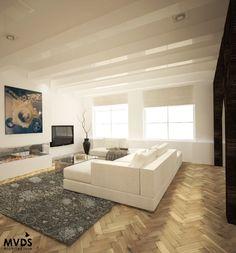 Interior design/impression/3d of an appartment design in amsterdam.