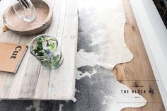 Regal Oak handcrafted timber flooring has a distressed matte finish and round edges for a rustic look. Seen here in colour Dover on NZ's The Block Timber Flooring, Laminate Flooring, The Block Nz, Godfrey Hirst, Interior Design Gallery, Luxury Vinyl Tile, Floor Design, Rustic Charm, Wood Species