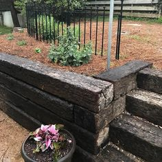 15 Best Landscaping With Railroad Ties Images In 2016 Railroad