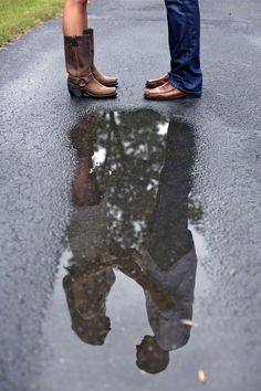 reflection // spring engagement