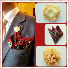 Cotton Paisley pocket square with yellow cotton flower http://toptrendhombre.com/blog/tienda-online/panuelos/pocket-square-paisley-de-flores-con-ribete-rojo-jakob-buchli/