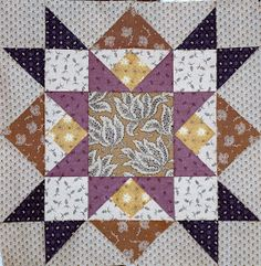 Hello Everyone,  Here are the block #11 & #12 for those of you working on the Minglewood Block of the Month. As luck would have it, this mo...