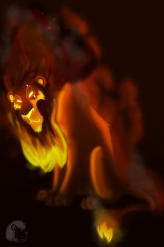 Scar, the lion guard, from DeviantArt