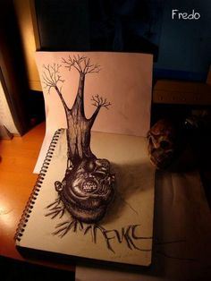 Amazing 3D Pencil Sketch   See More Pictures   #SeeMorePictures