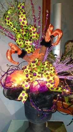 Halloween Urn Decorations Entrancing Witches Urn  Halloween Decorations  Pinterest  Urn Witches And Design Ideas