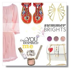 """""""Untitled #1028"""" by wannanna ❤ liked on Polyvore featuring Dolce&Gabbana, Terre Mère and summerbrights"""