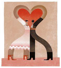I Love Flamenco by Maria Corte Maidagan Graphic Design Illustration, Graphic Art, Illustration Art, Romantic Night, Spanish Artists, All You Need Is Love, Book Art, Art Pieces, Art Prints