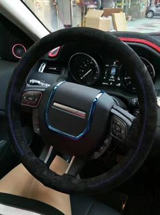 Buy Wholesale DIY Weaving Leather Car Steering Wheel Covers Hand-Stitched Knitted Universal - Black Blue from Chinese Wholesaler Car Steering Wheel Cover, Buy Wholesale, Leather Cover, Car Accessories, Hand Stitching, Weaving, Diy, Blue, Auto Accessories
