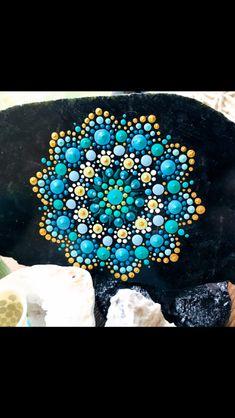 Mandala Canvas, Mandala Dots, Mandala Painting, Mandala Pattern, Dot Painting, Mandala Design, Stone Painting, Mandala Painted Rocks, Painted Stones