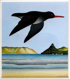 Toreapango, Te Komoki  by Don Binney    2008
