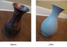 How to Paint a Vase. susan-snyder.blogspot.com
