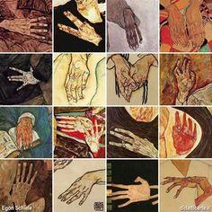 Hands in the art