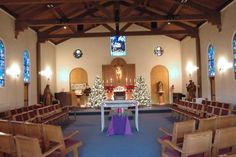 the chapel at the Jesuit Retreat Center in Los Altos, California