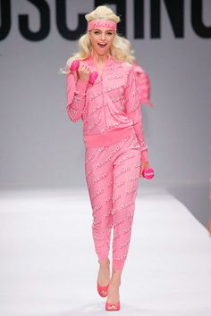 Moschino's spring 2015 Barbie-inspired show