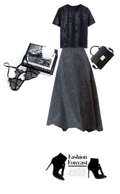 """Simple"" by theitalianglam ❤ liked on Polyvore featuring skirts, trends and Winter2016"