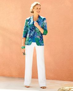 Sateen felicity jacket, perfect simplicity shell l #ColdwaterCreek