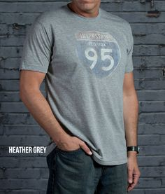 Super Soft 65% Polyester 35% Cotton, Lightweight, Athletic Cut, Vintage Graphic T. Fits True To Size. In 3 Vintage Colors.