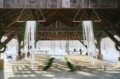 Bohemian Winter Wedding at the Thorpewood in Thurmont, Maryland | Rebekah J. Murray Photography