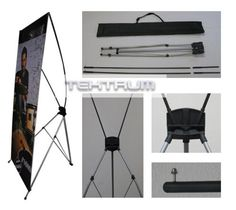 TEKTRUM Large 32 x 71 Inches Tripod X... $25.95 #topseller Grant Writing, Banner Stands, Silent Auction, 2 Set, Trade Show, Tripod, Desk, Display Stands, Inspiration