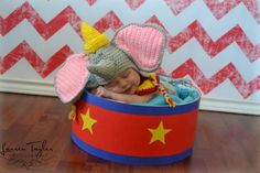 Dumbo Crochet set by NanniesCreations1 on Etsy
