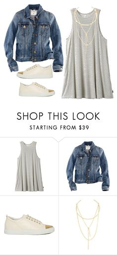 """""""OOTD"""" by southern-mom ❤ liked on Polyvore featuring RVCA, H&M, Lanvin and Jules Smith"""