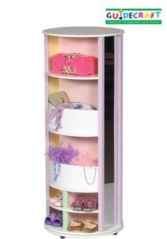 The perfect dress-up storage carousel