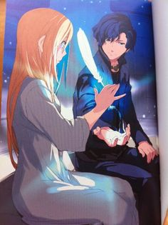 Anubis and Sadie from the Kane Chronicles