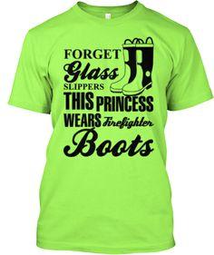 Firefighter Boots T-Shirt